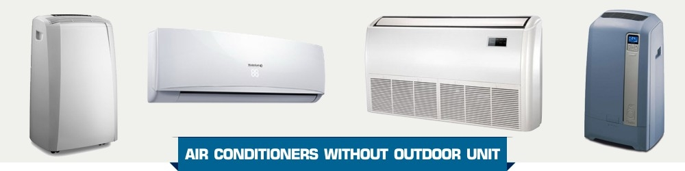 Portable Air Conditioners & Without Exhaust