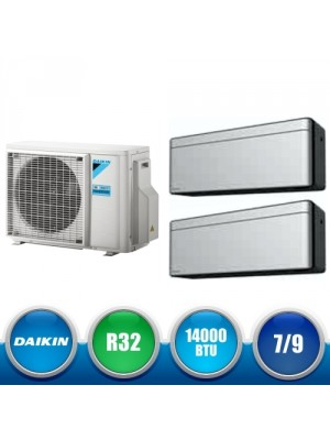 DAIKIN 2MXM40M + FTXA20AS + FTXA25AS Kit Dual Split DC Inverter a Parete da 14000 BTU