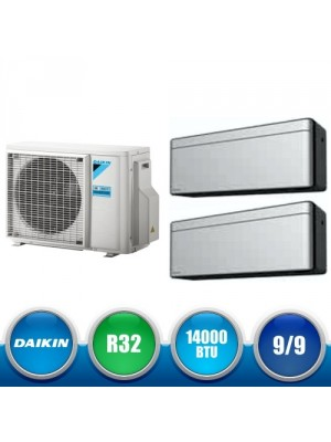 DAIKIN 2MXM40M + FTXA25AS + FTXA25AS Kit Dual Split DC Inverter a Parete da 14000 BTU