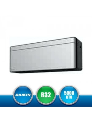 DAIKIN CTXA15AS Unità Interna a Parete Stylish Bluevolution con Pannello Frontale Silver - 5000 BTU