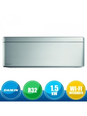 DAIKIN CTXA15BS Unità Interna a Parete Stylish Bluevolution - Total Silver 1.5 kW