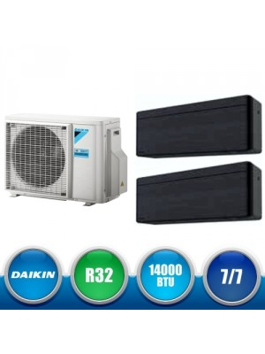 DAIKIN 2MXM40M + FTXA20AT + FTXA20AT Kit Dual Split DC Inverter a Parete da 14000 BTU