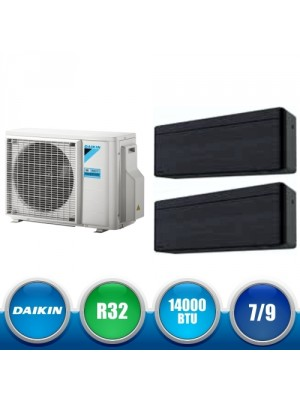 DAIKIN 2MXM40M + FTXA20AT + FTXA25AT Kit Dual Split DC Inverter a Parete da 14000 BTU
