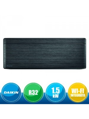 DAIKIN CTXA15BT Unità Interna a Parete Stylish Bluevolution - Real Blackwood 1.5 kW