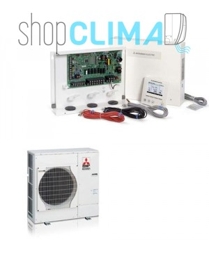 Ecodan Mitsubishi Electric Configurazione Sistemi Packaged