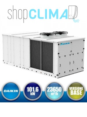 DAIKIN UATYQ100ABAY1 Monoblocco Roof Top Versione Base - 101,6 kW