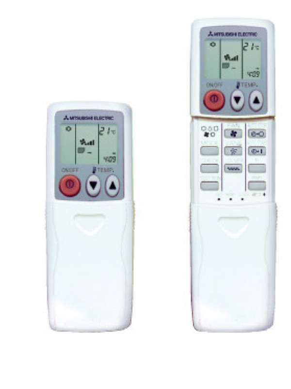 controller conditioning medium electric splits outdoor units air pac remote mitsubishi hotel