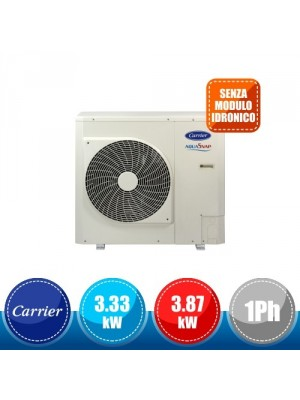 CARRIER 30AWH004XD Monobloc Reversible Inverter Heat Pump without Hydronic Module - 3.33 kW Single-Phase