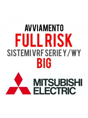 MITSUBISHI ELECTRIC AVV-1S-BIG-Y-WY Technical Service for Start-Up Formula FULL-RISK STD Systems VRF Series Y/WY - Nr. 1 Outdoor Unit