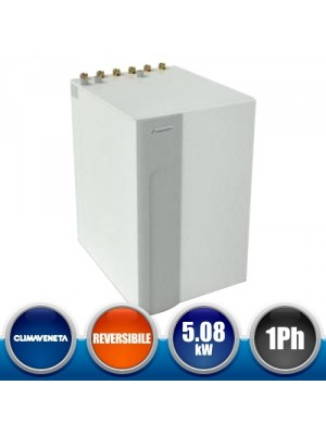 CLIMAVENETA BWR-MTD2-0011MS Reversible Heat Pump with Geothermal Source - Single phase 5,08 kW