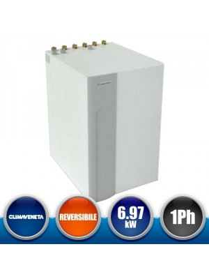 CLIMAVENETA BWR-MTD2-0025MS Reversible Heat Pump with Geothermal Source - Single phase 6,97 kW