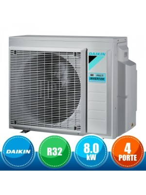 DAIKIN 4MXM80N Outdoor Unit Quadri Split Bluevolution R32 - 27000 BTU