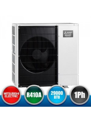 MITSUBISHI ELECTRIC PUHZ-W85VAA Single phase Outdoor unit heat pump Packaged - 29000 BTU