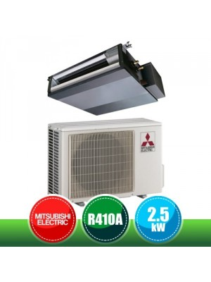 MITSUBISHI ELECTRIC SUZ-KA25VA + SEZ-M25DAL Monosplit Ductable Air Conditioning Kit - 9000 BTU