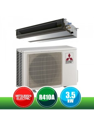 MITSUBISHI ELECTRIC SUZ-KA35VA + PEAD-M35JA Medium Ducted Monosplit Kit P Series Standard Inverter in R410A - 12000 BTU