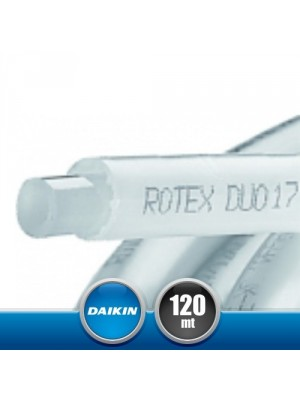 DAIKIN 170068 DUO 17 Pipe for Floor Heating Systema 70 and Radiators - 120 mt