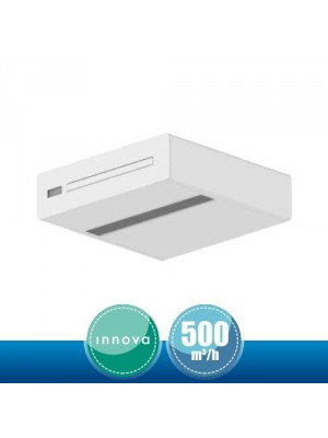 2.0 RINNOVA Ceiling Unit for Air Renewal and Purification - 500 mc/h