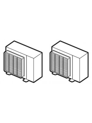 Air conditioners filters and accessories for intallation for Pac mitsubishi air eau
