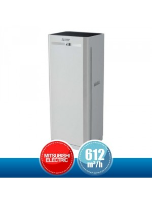 MITSUBISHI ELECTRIC MA-E100R-E Air Purifier with HEPA Filter for Rooms of 43/73 m2 - 612 mc/h