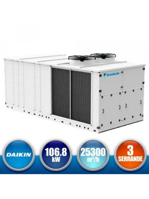 DAIKIN UATYQ115AFC3Y1 Monoblock Roof Top FC3S version with 3 Dampers - 106,8 kW