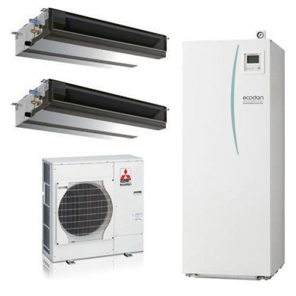 Mitsubishi Electric Ecodan Hybrid System Mr Slim PUHZ