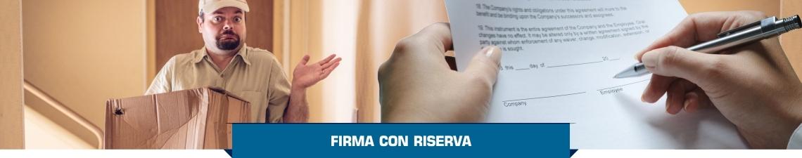 Firma con Riserva